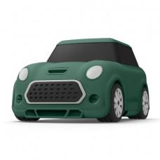 Силиконовый чехол c карабином для AirPods Elago Mini Car Green