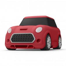 Силиконовый чехол c карабином для AirPods Elago Mini Car Red