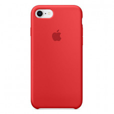Чехол Apple Silicone Case Red для iPhone SE 2020/8/7