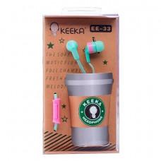 Внутриканальные наушники Keeka E-33