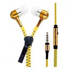 Внутриканальные наушники Zipper Gold