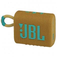Портативная Bluetooth колонка JBL Go 3 Yellow