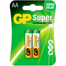 Батарейки GP Super LR6 AA 2шт.