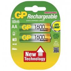 Аккумуляторы GP Rechargeable 1600 mAh AA 2шт.