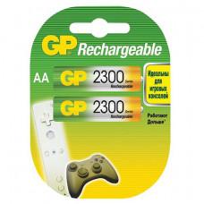 Аккумуляторы GP Rechargeable 2300 mAh AA 2шт.