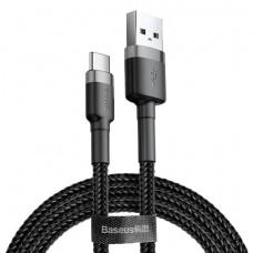 Кабель Baseus Cafule USB - Type-C 0.5M Black