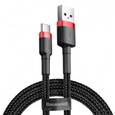 Кабель Baseus Cafule USB - Type-C 0.5M Red