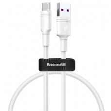 Кабель Baseus Double Ring USB - Type-C 1M White