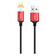 Кабель магнитный Hoco U28 USB - Lightning 1M