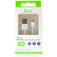 Кабель ISA USB - Lightning 1M