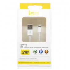 Кабель ISA USB - Lightning 2M