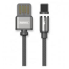 Кабель магнитный Remax Gravity USB - Lightning 1M Gray
