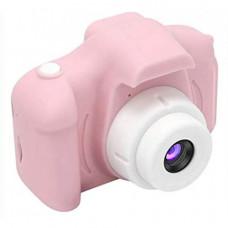 Детский фотоаппарат цифровой (Розовый)