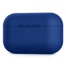 Силиконовый чехол c карабином для AirPods Pro Hang Case Blue