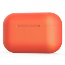 Силиконовый чехол c карабином для AirPods Pro Hang Case Orange
