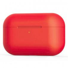 Силиконовый чехол c карабином для AirPods Pro Hang Case Red