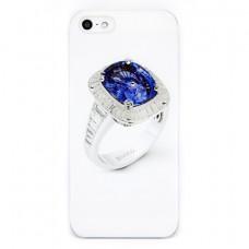 Чехол Colour Printing Drip Ring Sapphire для iPhone SE/5S/5