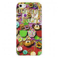 Чехол Kawos NT Mokey для iPhone SE/5S/5