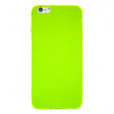 Чехол Silicone TPU Case Green для iPhone 6S Plus/6 Plus