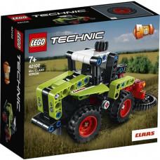 Конструктор LEGO Technic Mini Claas Xerion 130 деталей (42102)